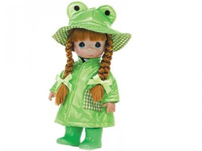 Кукла Дождь и солнце. Лягушонок 30 см Precious