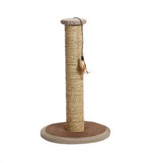 Когтеточка-столбик для кошек  Rofra из морской травы, цвет: коричневый, 30*30*49см I.P.T.S.