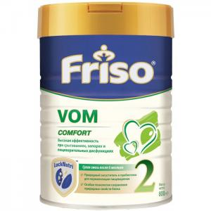 Заменитель VOM 2 с пребиотиками 6-12 мес 800 г Friso