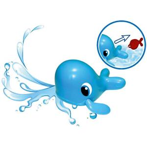 Игрушка для ванной  Морской путешественник-Кит Bebelino. Цвет: разноцветный