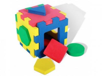 Пазл-мозаика , Кубик-геометрия Бомик
