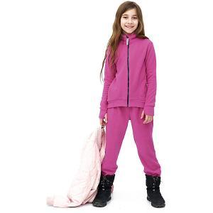 Комплект : кофта и брюки Микита. Цвет: розовый