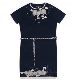 Платье , цвет: синий Kids Kingdoms