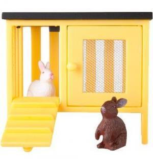 Игровой набор  Кролики и домик Lundby