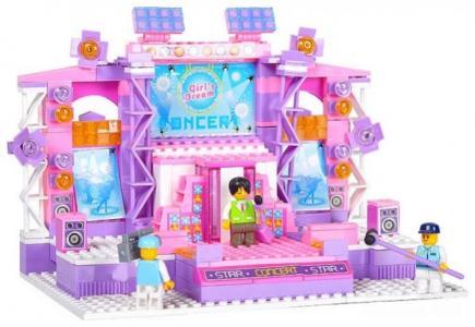 Конструктор  BOX Розовая мечта M38-B0255R (430 элементов) Sluban