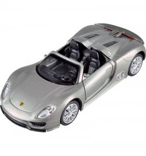 Машинка инерционная  Porsche 918 Spyder, 12 см Пламенный мотор