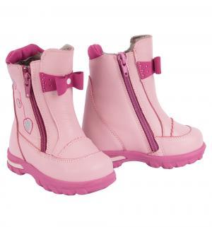 Сапоги , цвет: розовый Котофей