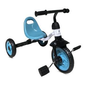 Трехколесный велосипед  A30, цвет: blue/white Lorelli