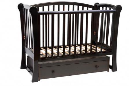 Детская кроватка  Лидер 1 (маятник поперечный) Baby Luce