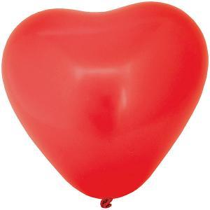 Воздушные шары Action! Сердечки разноцветные, 5 шт
