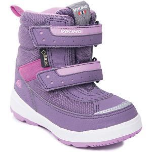 Ботинки Play II GTX Viking для девочки. Цвет: лиловый