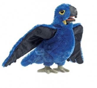 Мягкая игрушка  Синий ара 38 см Folkmanis