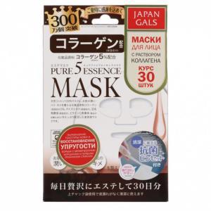 Маска с коллагеном Pure 5 Essential 30 шт. Japan Gals