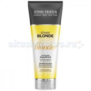 Sheer Blonde Шампунь осветляющий для натуральных и мелированных волос Go Blonder 250 мл John Frieda