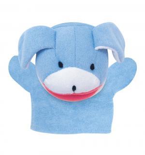 Мочалка-рукавичка  Животные Собака Сказка