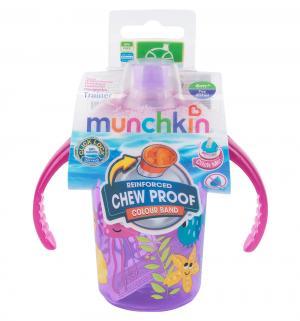 Поильник-чашка  С носиком, от 6 мес, цвет: сиреневый Munchkin
