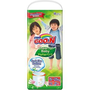 Подгузники-трусики  Cheerful Baby XXL 15-25 кг. 34 штуки Goon