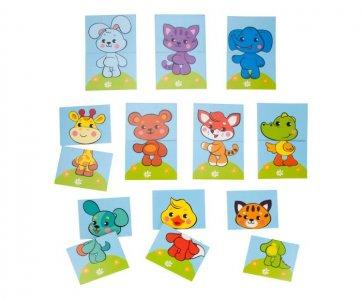 Набор игровых стикеров для купания Собери картинку Животные Жирафики
