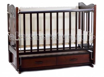 Детская кроватка  Милена продольный маятник Ведрусс
