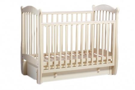 Детская кроватка  Карамелька универсальный маятник Baby Luce