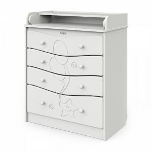 Комод  Мебель пеленальный Сириус с рисунком Kristoff Атон