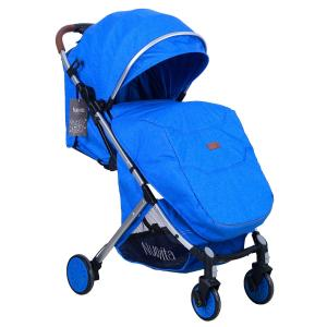 Прогулочная коляска  Giro Lux, цвет: blu argento Nuovita