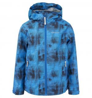 Куртка  Цветы, цвет: синий Luhta
