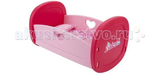 Кроватка для куклы  с аксессуарами в наборе Игруша