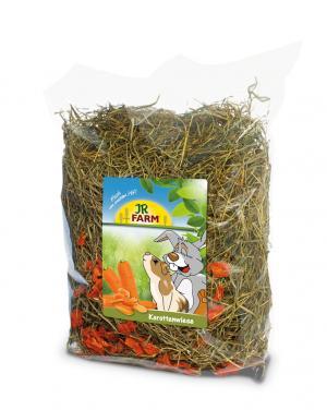 Сено  с добавлением моркови, 500г JR Farm