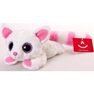 Мягкая игрушка  Юху и друзья Лисица Памми лежачая, 16 см AURORA