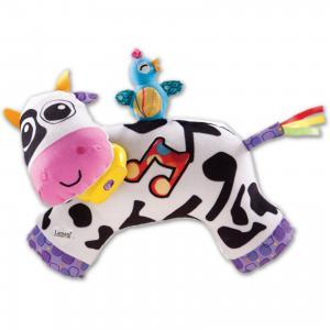 Мягкая игрушка Музыкальная Коровка, звук-мелодия, Lamaze TOMY