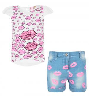 Комплект футболка/шорты , цвет: мультиколор Sleeping Baby
