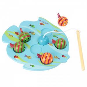 Деревянная игрушка  рыбалка Шустрые рыбки Фабрика фантазий