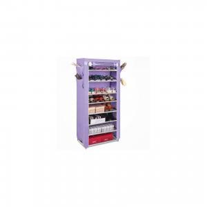 Тканевый шкаф для обуви и аксессуаров Элис, , фиолетовый Homsu