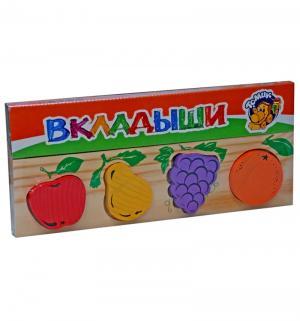 Рамка-вкладыш  Фрукты-ягоды Томик