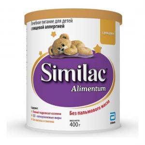 Молочная смесь  Alimentum безлактозная гипоаллергенная 0-6 месяцев, 400 г Similac