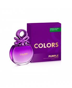 Туалетная вода (80 мл)  Colors Purple Benetton
