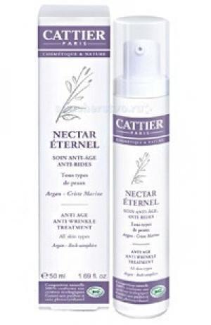 Крем для лица ANTI-AGE от морщин Нектар Молодости 50 мл Cattier