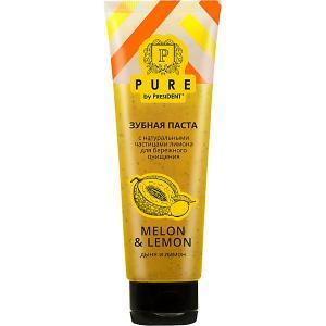 Зубная паста Pure by President Дыня и лимон, 115 мл