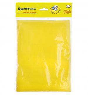 Клеенка  для девочек, 1 шт, цвет: желтый Курносики
