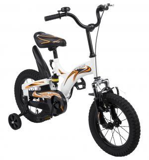 Двухколесный велосипед  G16BA606, цвет: белый/черный/оранжевый Capella