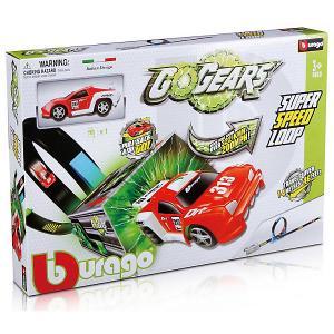 Автотрек  GoGears Супер скоростная петля Bburago. Цвет: белый