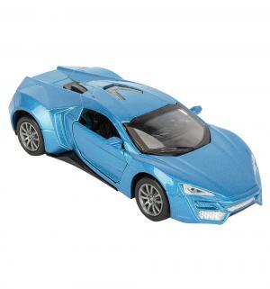Машинка  Rally синяя 12 см Игруша