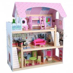 Edufun Кукольный дом с мебелью EF4110 Edufan