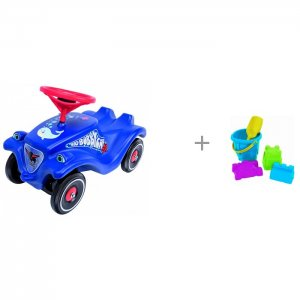 Каталка  Детская Bobby Car Classic Ocean и Нордпласт Набор для песка № 8 BIG