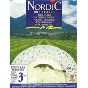 Каша  безмолочная рисовые с 12 месяцев 800 г Nordic