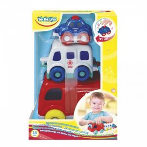 Развивающая игрушка  Пирамидка Машинки Bebelino