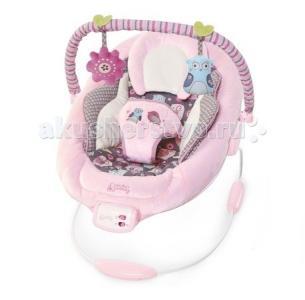 Кресло-качалка Комфорт и гармония Розовое гнездышко Bright Starts