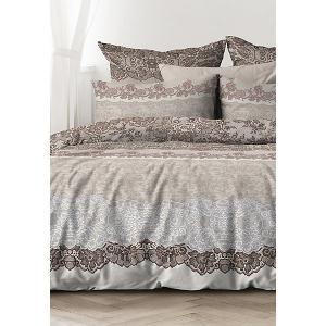 Комплект постельного белья  Лессаж, Евро Унисон. Цвет: разноцветный