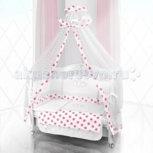Комплект в кроватку  Unico Grande Stella 120х60 (6 предметов) Beatrice Bambini